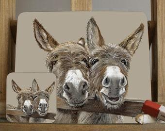 Donkey Placemat/Coaster