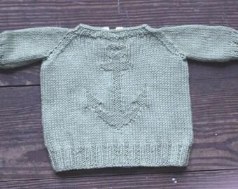 January 1st: Baby Sweater Knitting Pattern
