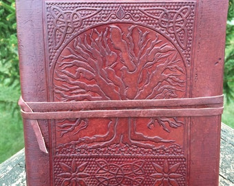 Personalized Leather Book of Shadows
