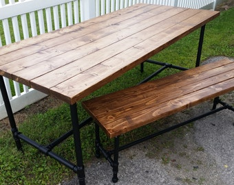 Pipe bench custom sizes