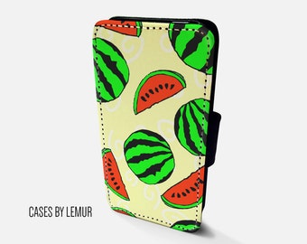 WATERMELON Iphone 6s Wallet Case Leather Iphone 6s Case Leather Iphone 6s Flip Case Iphone 6s Leather Wallet Case Iphone 6s Leather Sleeve