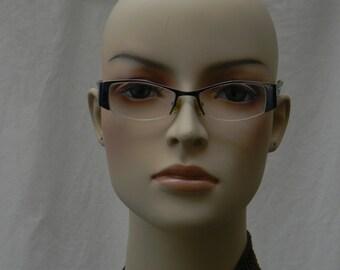 M Morel France Koali 6221K Eyeglass Frames with Reading Lens