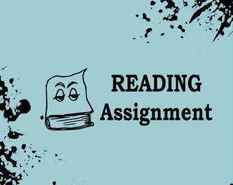 20% OFF NOW READING Assignment Book Stamp | Teacher Stamp | Teacher Grading Stamp | Bute_1017