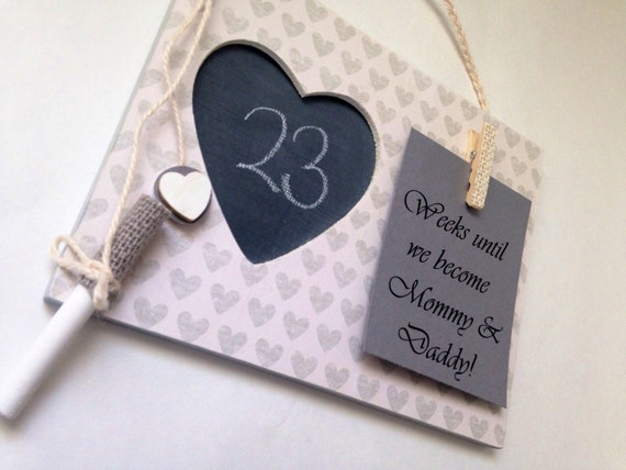 Baby Gifts For Expecting Mothers : Countdown to baby gift for expecting mom by embellishedforlove