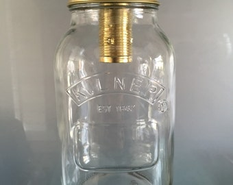 Kilner Jam Jar Pendant Light