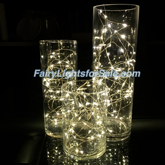 String Lights Vase : 3m/9.8ft 5 sets Warm White 30 LED fairy light string strand