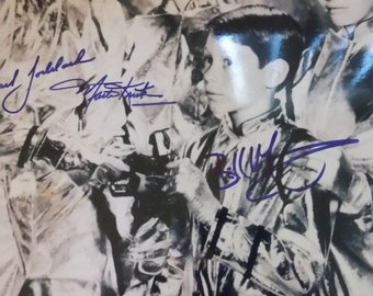 LOST IN SPACE Autograph x4 on large 11x14 glossy photo  Signed Autographed Signed by Mark Goddard Angela Cartwright Marta Kristen Bill Mumy
