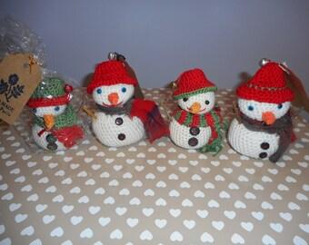 Crochet Snowman (Small)