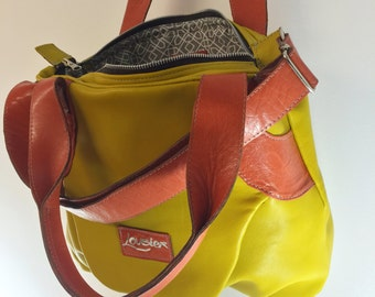 Leather handbag - The Summer