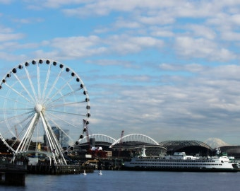 Seattle Pikes place market/ photograph/ grunge/Seattle scene