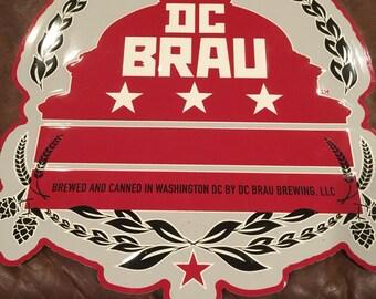 DC Brau Brewing Tin Sign