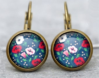 Earrings - Floral