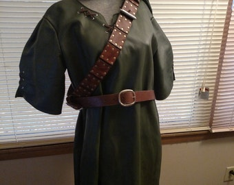 Leather Link Tunic