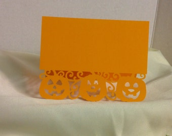 Happy Trio Pumpkin Card , PaperCut , Free Confetti , Halloween , Kids , Adults , Family , Friends , Co-Workers