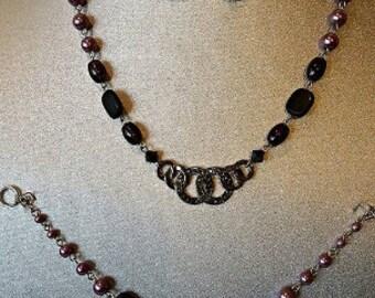Purple Queen Jewelry Set