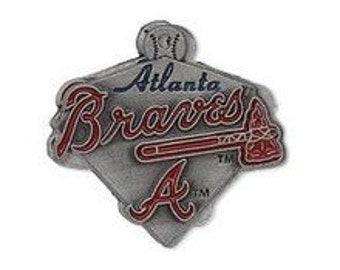 Atlanta Braves Triangle Charm