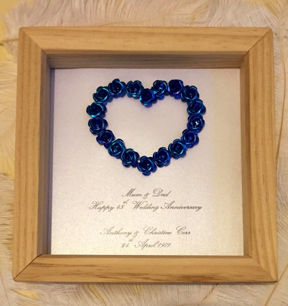 45th Wedding Anniversary Gift 65th Wedding By