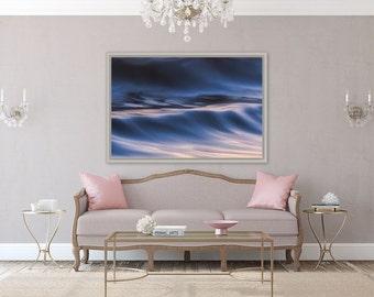 Silk Royale ~ Beavertail, Jamestown, Rhode Island, Beach, Photography, Sunset, Waves, Coastal, Decor, Wall Art, Nautical, Purple, Joules