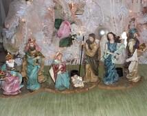 Nativity Scene, Christmas Nativity Set