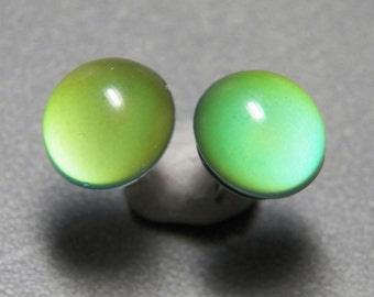 "12mm ""Mood Earrings"" Color Changing Post Earrings with Sterling Silver"