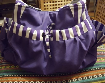 Purple Bag with Lots of Useful Pockets