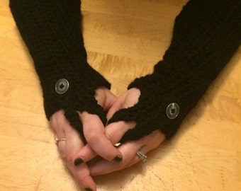 Fingerless Gauntlets
