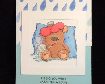 Heard You Were Under The Weather Greeting Card