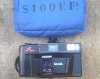 Camera old KODAK S100EF Flash + original cover black