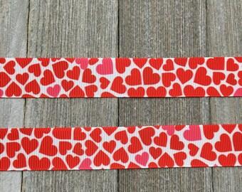 Valentines Ribbon, Heart Ribbon