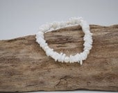 Freshwater Pearl and Puka Shell Beach Bridal Bracelet
