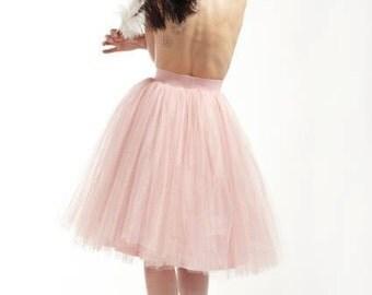 50s Skirt, Wedding Tulle Skirt, Wedding Tutu, Blush Skirt, Pink Tutu Skirt, Womens Tutu Skirt, Wedding Skirt, Retro Skirt, Maxi Skirt