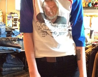Small kenny rogers baseball t-shirt