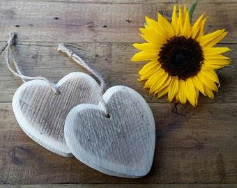 Rustic Handmade Hearts