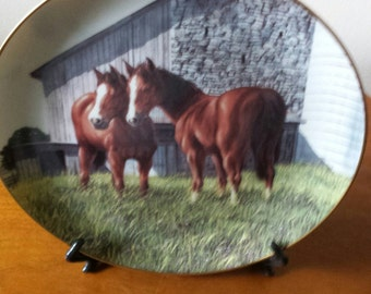 The Yearlings Collectors Plate