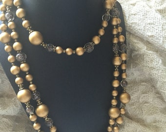 Germany Beaded long Necklace