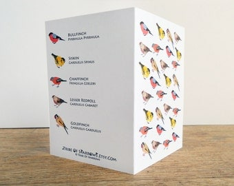 Charm of Finches Card