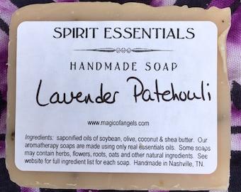 Lavender Patchouli Handmade Soap