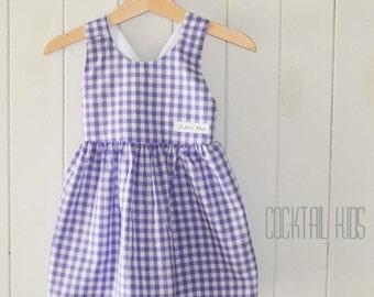Purple jessie dress