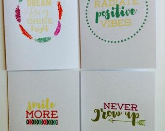 Encouragement Card Set - Positive Card Set
