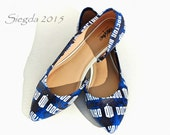 Doctor Who Insignia Flats- Choose Your Style- Wedding- Geek- Bride- Bridal Shoes- Prom- Graduation- Gift- Custom Shoes-Whovian- Nerd-Space