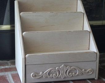 Stadium Essential Oil Shelf with drawer