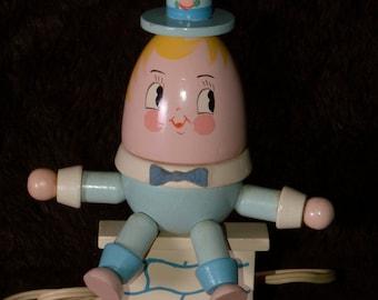 Humpty Dumpty Lamp Nursery Lamp