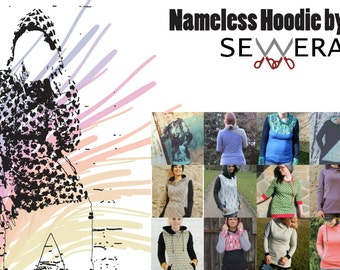 Nameless Hoodie sewing pattern & instruction