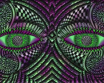 Eyes Art Print 4x6