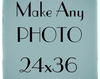 Large Size Wall Art- Big Black and White print - Make Any Photo 24x36 - Fine art photography - Huge Art Print - Oversized Picture