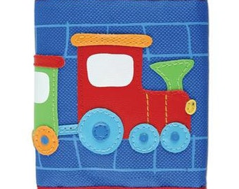 Boy's Train Wallet with Velcro Closure