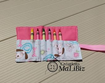 wax pencil case