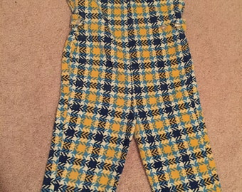 Vintage toddler chordroy jumpsuit