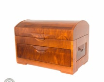 EXCLUSIVE CHEST! DRESSER Made from 100% natural most rare Siberian fire (gnarled) birch! #CH2