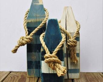 Vintage Nautical Buoys (set of 3)
